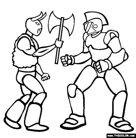 action figures printable coloring pages
