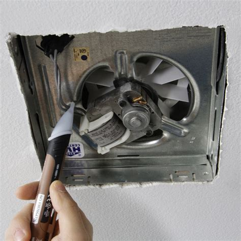 Replacing A Bathroom Fan by Install A Bathroom Exhaust Fan