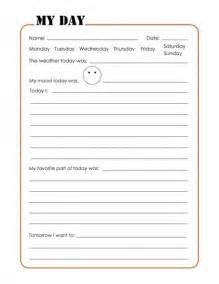 daily journal template 25 best ideas about summer journal on