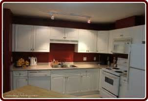 Red Kitchen With White Cabinets red kitchen walls images dark wall with white cabinet idea excerpt