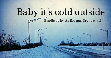 what temperature is cold to leave a outside baby it s cold outside the drync wine blogthe drync wine