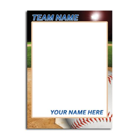 free sports card template best photos of baseball trading card template printable