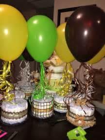 Lion king baby shower centerpieces livi s birthdays pinterest