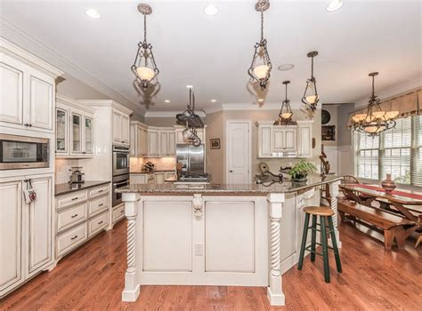 antique white kitchen with wood floors and an antique white kitchen cabinets design photos designing