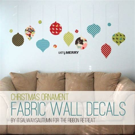 how to make a wall sticker how to make fabric wall decals ornaments the