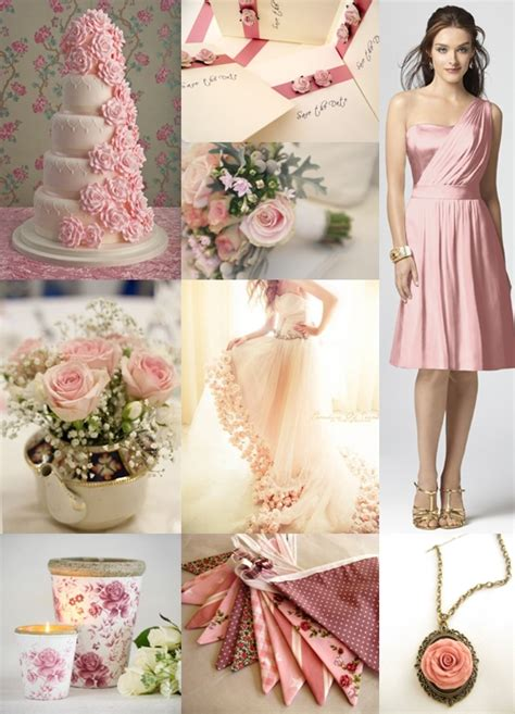 rose themed wedding dress pink rose wedding theme the wedding community blog