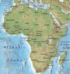 africa map geography physical geography 101 africa assignment
