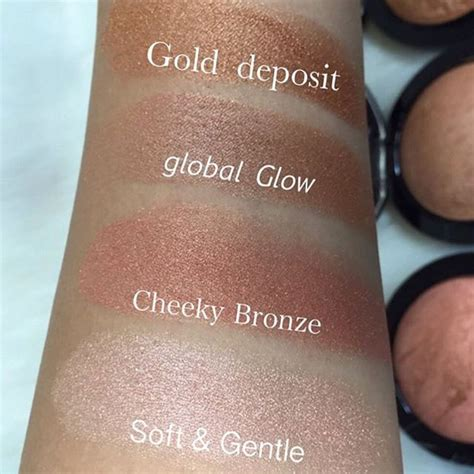 Mac Mineralize Skinfinish Warm swatches mac mineralized skin finish highlighters