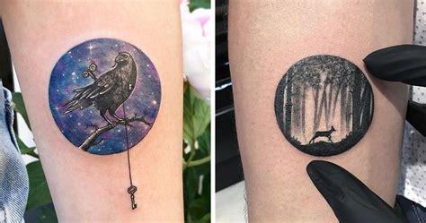 bored panda tattoo turkish miniature circle tattoos by turkish artist eva krbdk