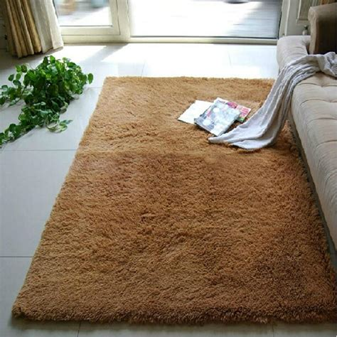bed rugs 80 200cm large plush shaggy soft carpet bed area rugs slip