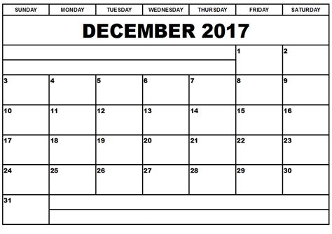 printable monthly calendar for december 2017 december 2017 printable calendar printable calendar