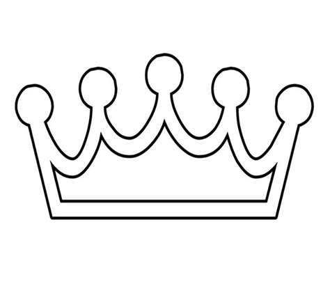 crown printable template birthday crown template pictures to pin on