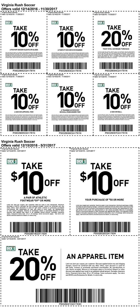 sporting goods stafford va s yearly coupons virginia soccer club