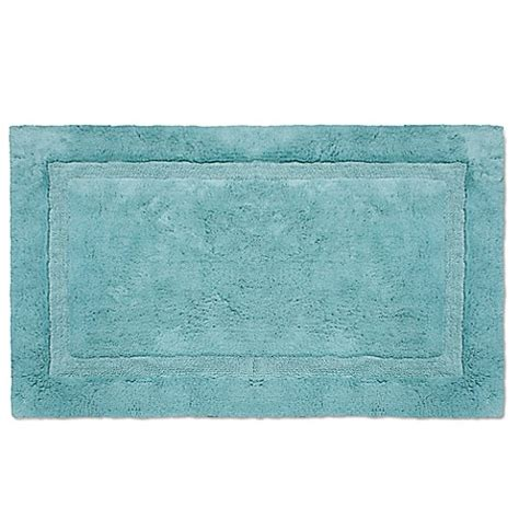 Plush Bathroom Rugs Wamsutta 174 Luxury Border Plush Microcotton Bath Rug Bed Bath Beyond