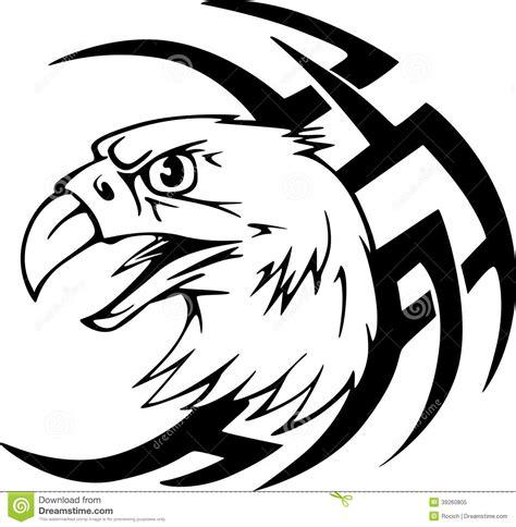 Aquila Tribal Set predator eagle stock vector illustration of
