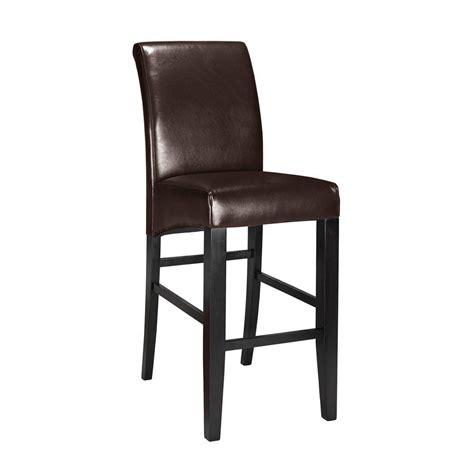 home decorators bar stools home decorators collection parsons 30 375 in espresso