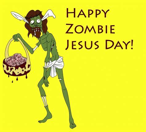Zombie Jesus Meme - happy zombie jesus day blank template imgflip