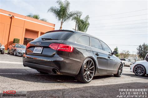 Wheels Audi A4 by B8 Audi A4 Avant On Solo Werks Coilovers Gets Rse102 Rims