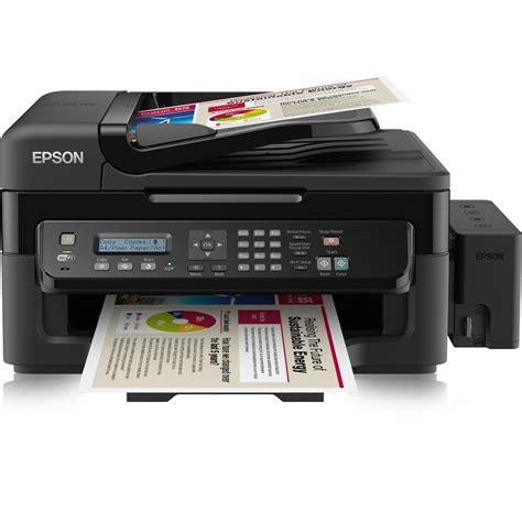 Epson L by Epson Ecotank L555 A4 Colour Multifunction Inkjet Printer