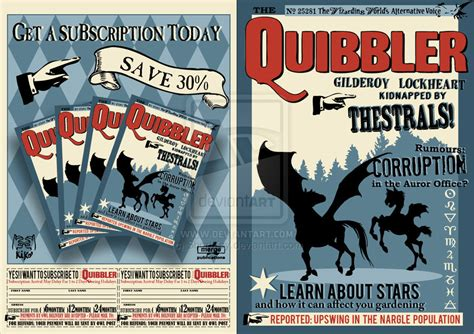 Free Printable Quibbler | the quibbler by shortkey on deviantart