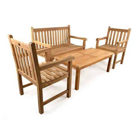 garden table and bench set uk teak garden coffee table bench set homegenies