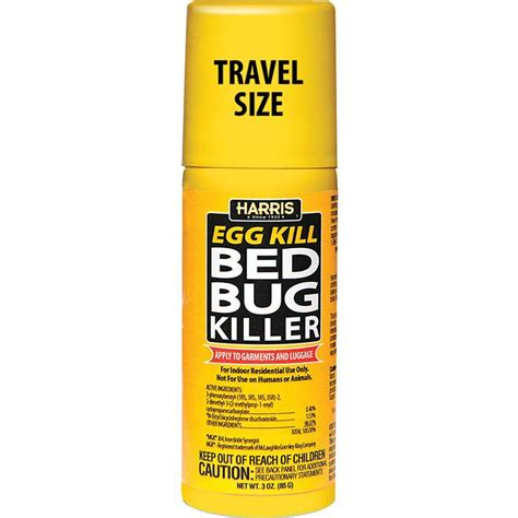 harris  oz travel size egg kill bed bug killer egg   home depot