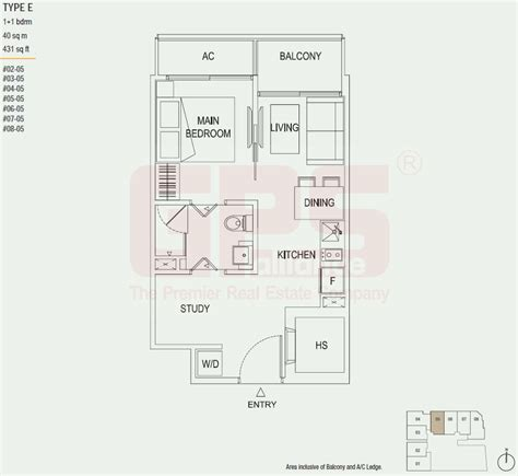 buying a 1 bedroom condo the octet floor plan singapore private condo for sale