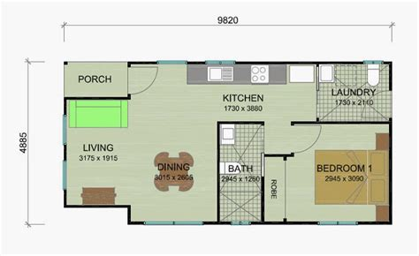 one bedroom granny flat floor plans granny flat floor plans image mag