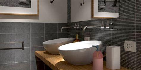 nascosta in bagno rifare il bagno progetto in 3d con lavatrice quot nascosta