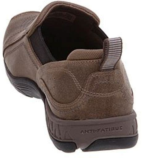 Rugged Slip On Shoes Timberland Rugged Slip On Shoes In Brown For Men Beige