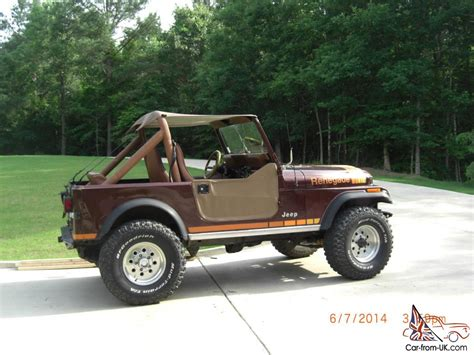 Jeep Cj7 Renegade For Sale 1984 Jeep Cj7 Renegade W Factory Ac