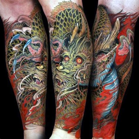 dragon forearm tattoo designs 30 forearm designs for cool creature ideas