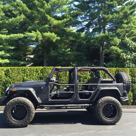 jeep jku doors rear doors textured black 2007 2018 jeep wrangler
