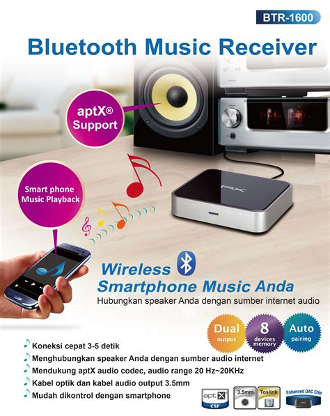 Px Bluetooth Receiver 1000 jual px bluetooth receiver btr 1600 butik dukomsel