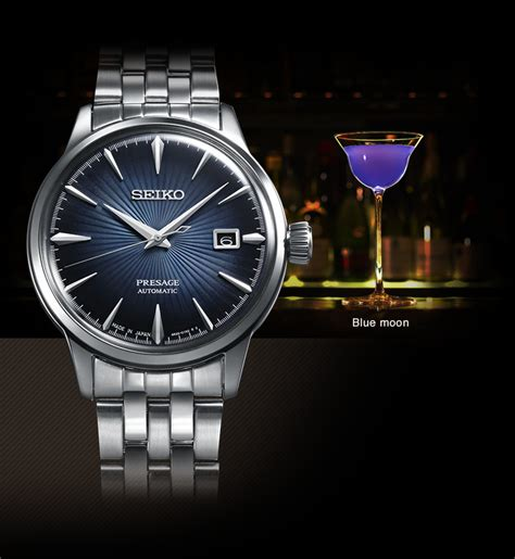 Seiko Presage Cocktail Srpb43j1 Automatic Sky Diving Jam Pria Srpb43 presage presage collection inspired by the cocktail bar