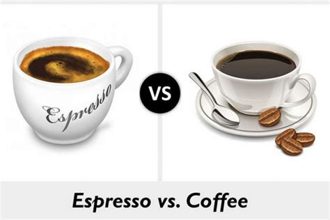 caffeine espresso vs koffie do you know the difference between espresso and coffee