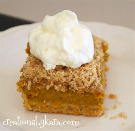 fast and easy pumpkin dessert