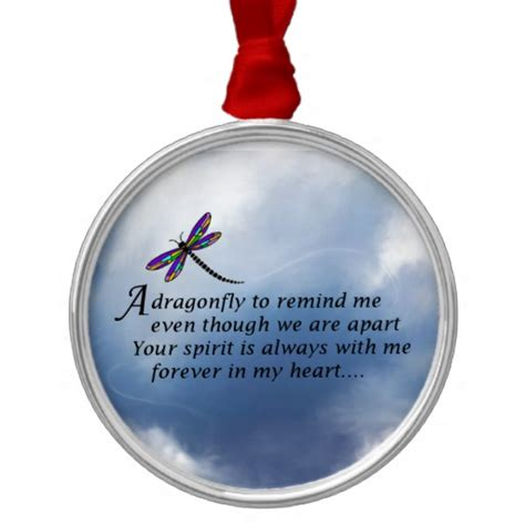 dragonfly memorial poem zazzle