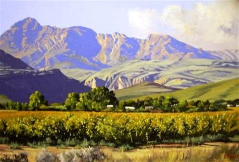 Landscape For Sale South Africa Landscape Paintings By Ted Hoefsloot South