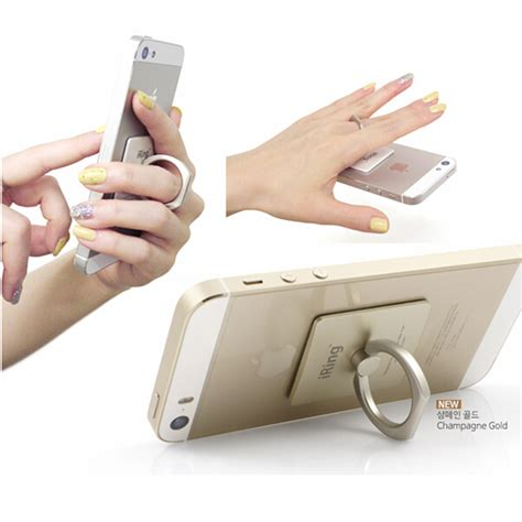 Ring Stand Holder For Smartphone Tablet Stand With Ring Hoo iring mobile phone holder tablet stand for smartphone