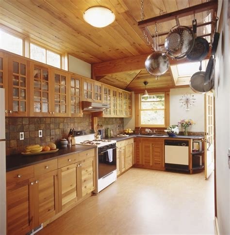 Budget Blinds Portland Or Custom Reclaimed Wood Cabinets Gives This Green Kitchen
