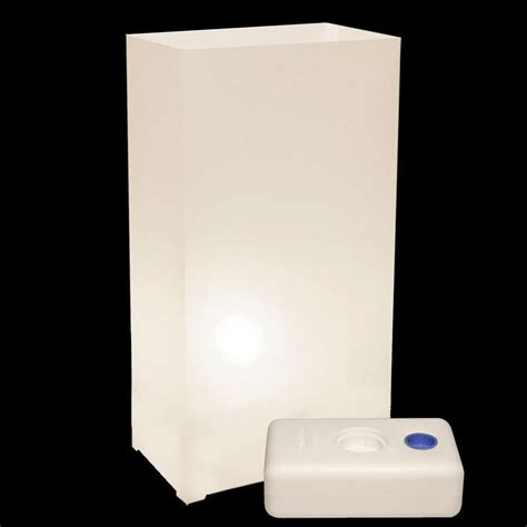 lumabase electric luminaria kit in white with lumabases