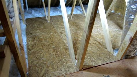 Diy Storage Box by How To Create Storage Space In Your Attic Part 2 Easy Diy