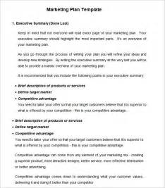 template for a marketing plan strategic marketing plan template 7 free word pdf