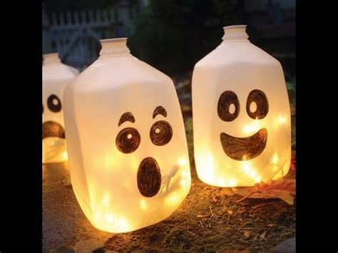scary decorations to make at home decorations ghost lanterns