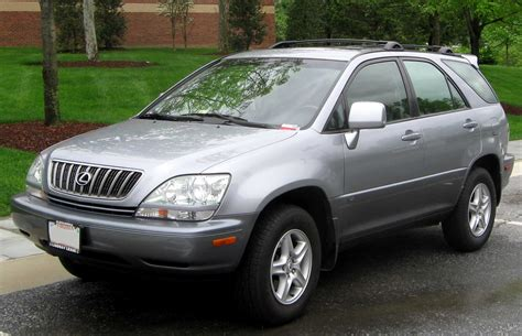Lexus Rx300 2000 by 2000 Lexus Rx 300 Information And Photos Zombiedrive
