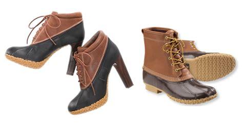 high heel duck boots where the sidewalk begins duck boots