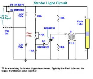 light circuit strobe light circuit