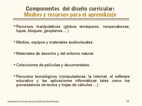 Diseño Curricular Dominicano Nivel Primario Actualizaci 243 N Curricular Bases Y Dise 241 O Nivel Primario Monografias