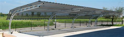 tettoia in ferro usata tettoia in ferro per auto usata con tecnoserre snc
